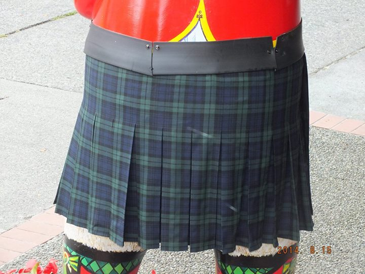 The largest kilt we've ever made.